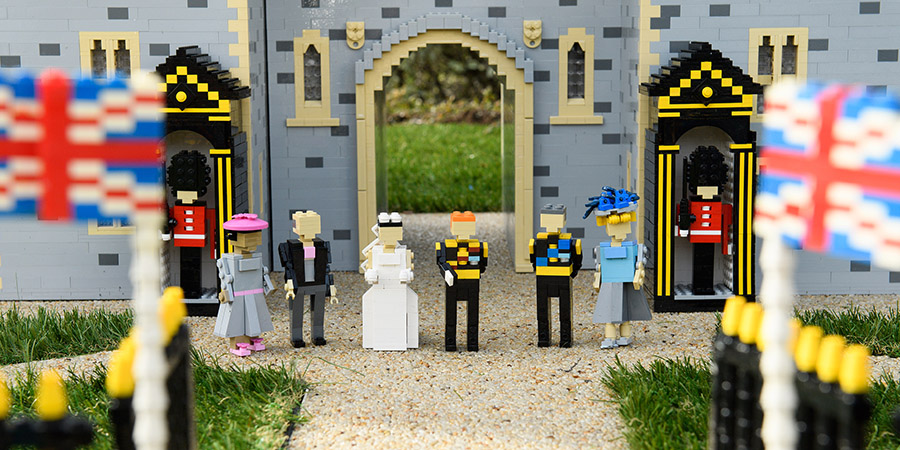 Royal Wedding Arrives At LEGOLAND Windsor | BricksFanz
