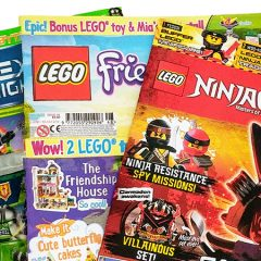 LEGO Magazines July Round-up
