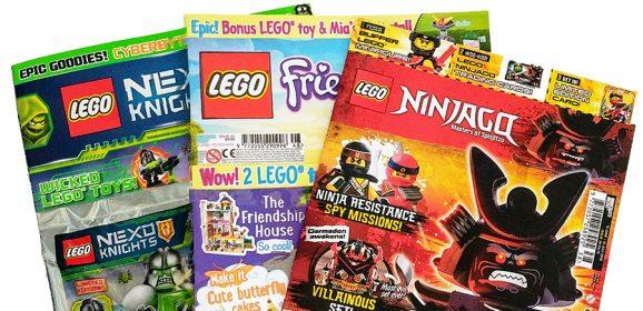 LEGO Magazines July Round-up
