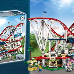 LEGO Creator Expert Roller Coaster Designer Video