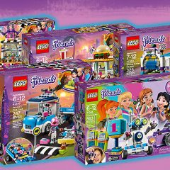 Get Ready To Race With New LEGO Friends Sets