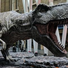 Free LEGO Jurassic World Sets At London Stations