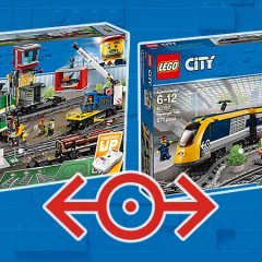 New Powered Up LEGO City Trains Arrive