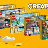New LEGO Creator Sets Now Available