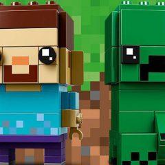 Minecraft LEGO BrickHeadz Revealed