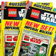LEGO Star Wars Magazine July Issue