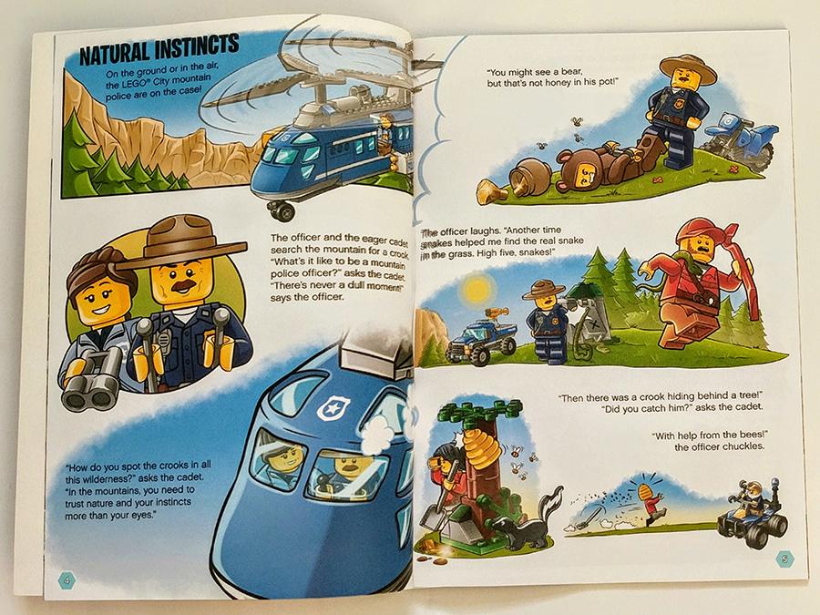 Lego City Minifigure Activity Book Review Bricksfanz