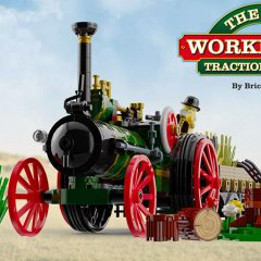 Amazing MOCs – The Old Workhorse Traction Engine