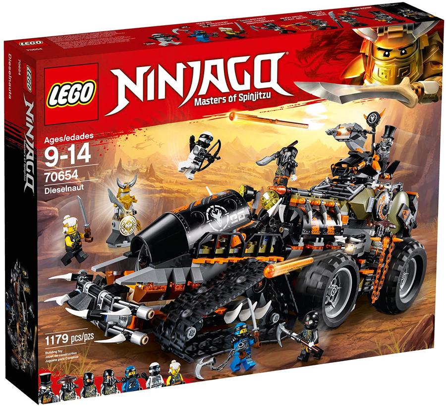 70654: Dieselnaut LEGO NINJAGO Set Review | BricksFanz