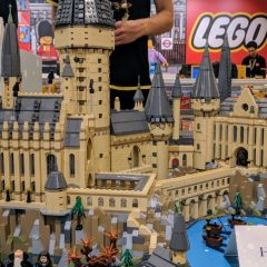 Up Close With The LEGO Hogwarts Castle