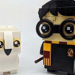 41615 : Harry Potter & Hedwig BrickHeadz Review
