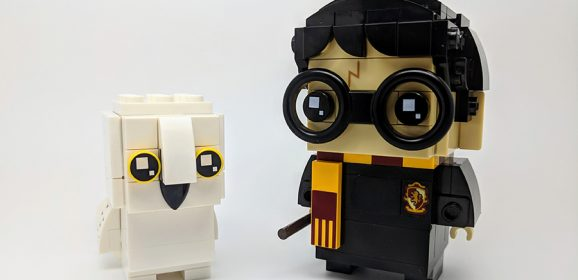 41615 : Harry Potter & Hedwig BrickHeadz Review