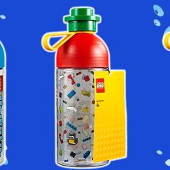 Stay Hydrated With LEGO Drinks Tumblers & Bottles