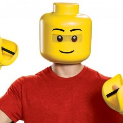 LEGO Minifigure Mask & Hands Costume Review