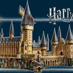 LEGO Harry Potter Hogwarts Castle In-detail