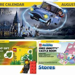 LEGO Offers & Promotions August 2018