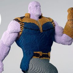 LEGO Big Build Thanos To Bring Balance To Comic-Con