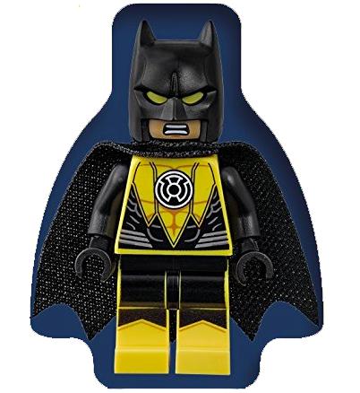 Lego BATMAN Exclusive Yellow Lantern Minifigure RARE *FIGURE ONLY NO DICTIONARY*