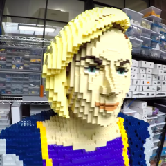 Doctor Who Materialises In LEGO Form At Comic-Con