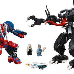 LEGO Super Heroes Spider-Man & Venom Mechs Set Revealed