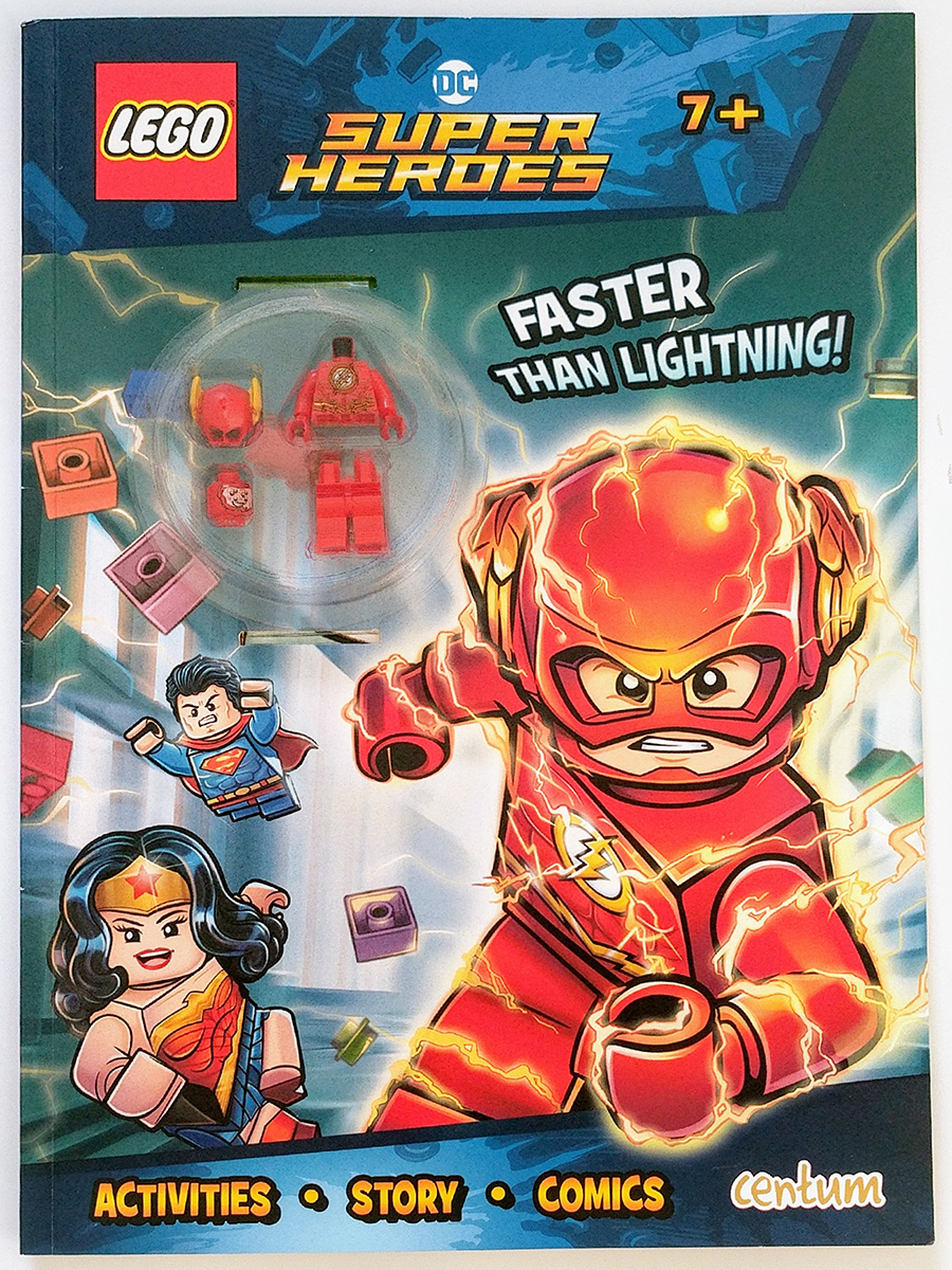 Lego Dc Super Heroes Minifigure Activity Book Review Bricksfanz