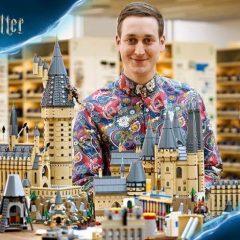 LEGO Hogwarts Castle Set Signing Event