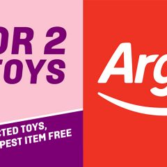 Argos 3 For 2 On Selected Toys Begins