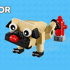 Free LEGO Creator Cute Pug Polybag Now Available