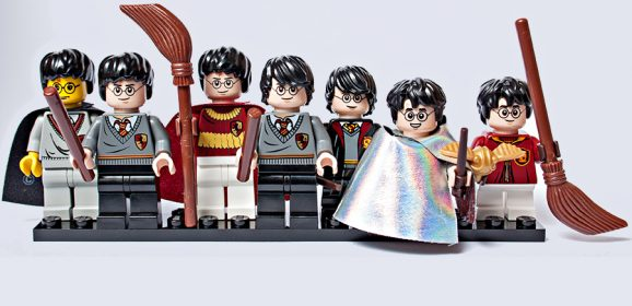 LEGO Harry Potter Minifigures Comparing Characters