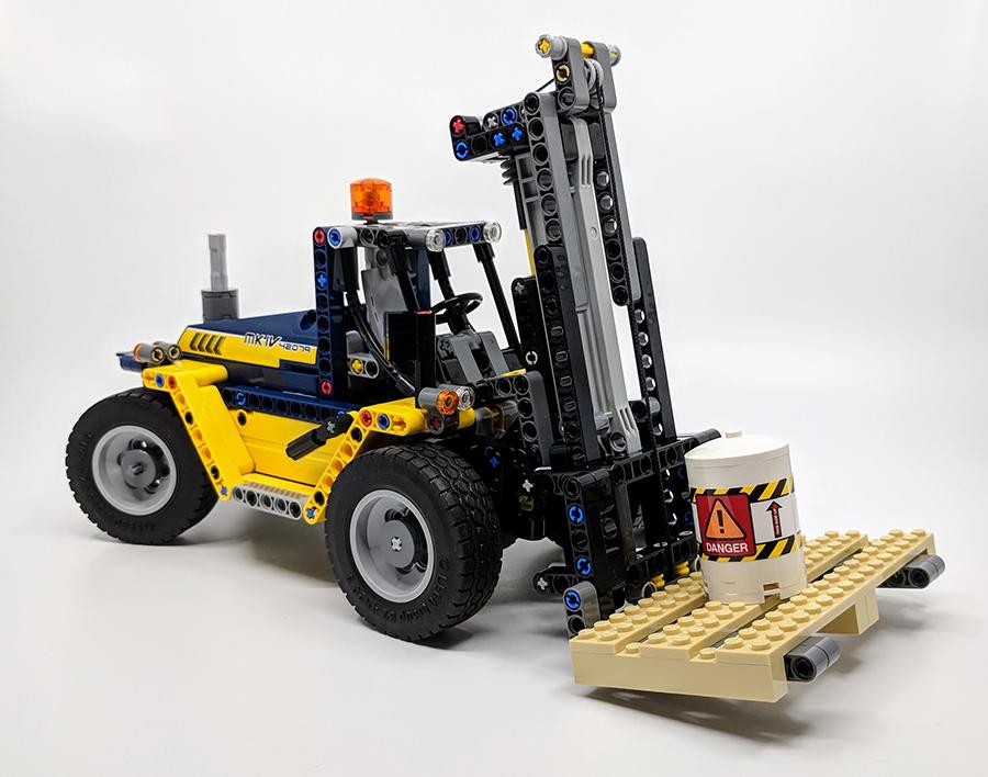 42079 Heavy Duty Forklift Technic Set Review Bricksfanz
