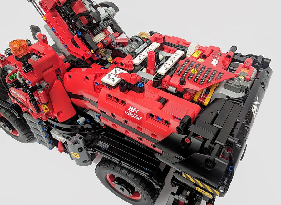 42082 Rough Terrain Crane Technic Review Bricksfanz