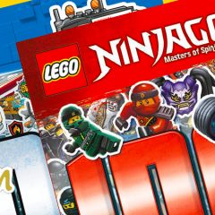 LEGO NINJAGO & City 1001 Sticker Books Review