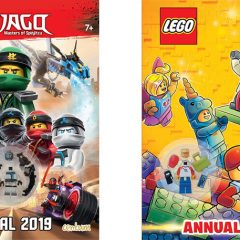 First Look At 2019 LEGO Annuals