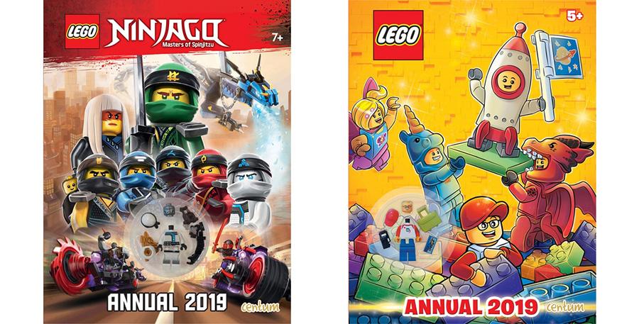 First Look At 2019 LEGO Annuals | BricksFanz
