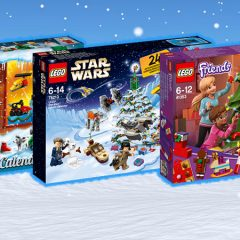 New LEGO Advent Calendars Now Available