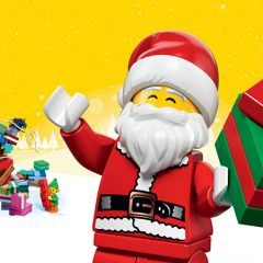 Let's Celebrate LEGO Christmas In July