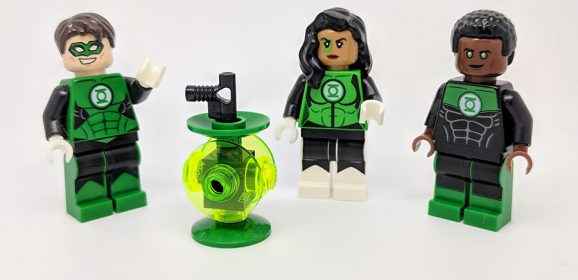 Green Lantern Jessica Cruz Minifigure Review