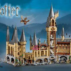Take A 360° Tour Of LEGO Hogwarts Castle