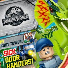 New LEGO Jurassic World Magazine Out Today