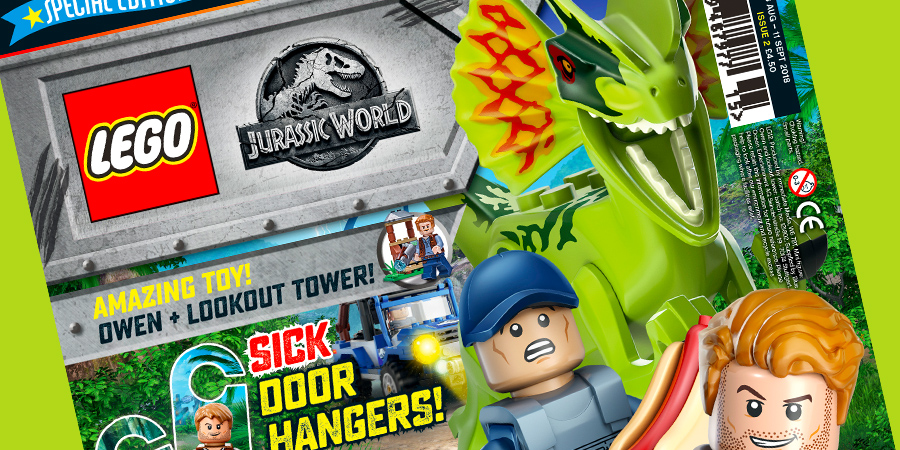 New LEGO Jurassic World Magazine Out Today | BricksFanz