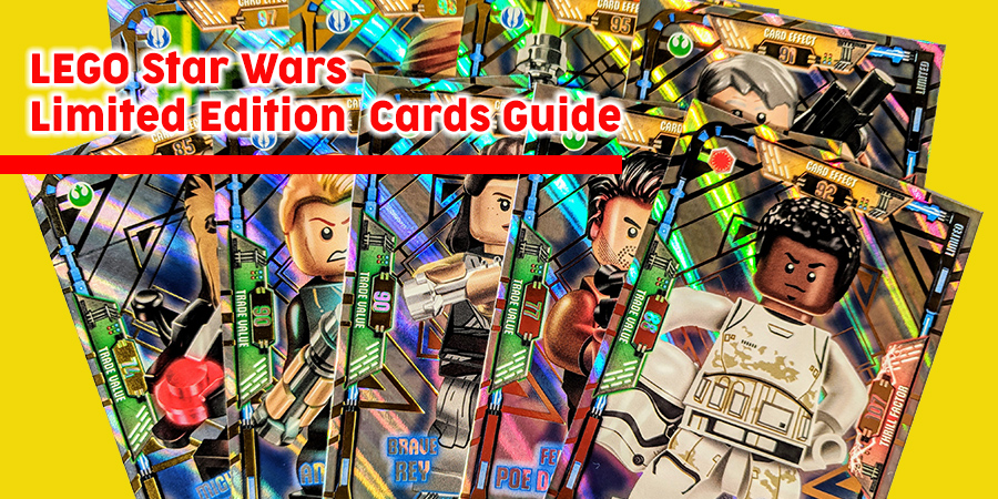 Lego Star Wars series 1 Foils and Blacks trading cards