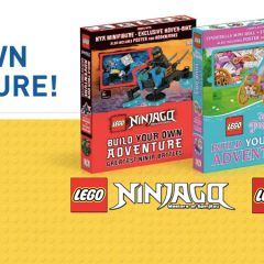 Build Your Own LEGO Adventures With DK Books