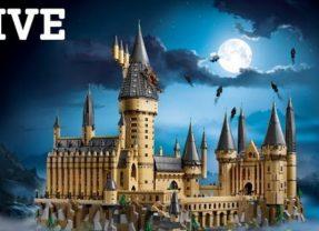 LEGO Harry Potter Hogwarts Castle Live Build