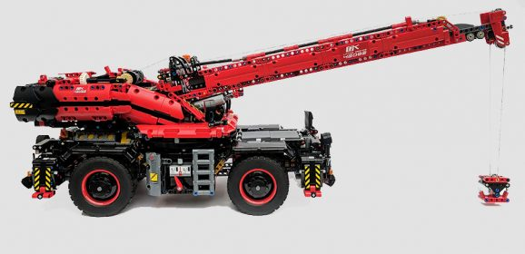 42082: Rough Terrain Crane Technic Review