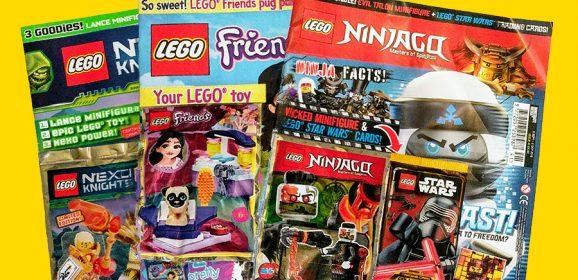 LEGO Magazines September Round-up