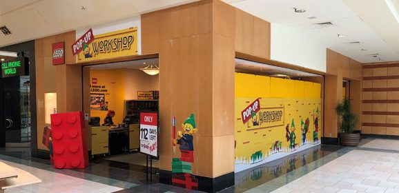 Pop-up LEGO Brand Stores Being Tested