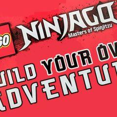 LEGO NINJAGO Build Your Own Adventure Book Review