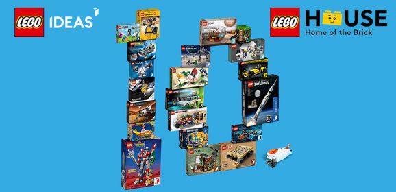 Celebrating 10 Years Of LEGO Idea At LEGO House