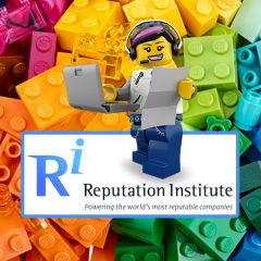 LEGO Maintains Reputable Company Accolade
