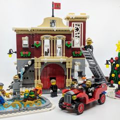 10263: LEGO Creator Winter Village Fire Station Set Review